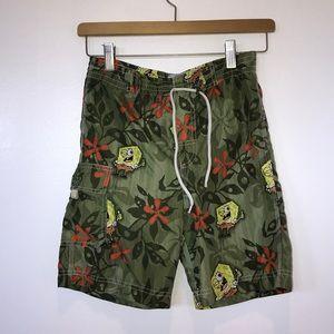 Sponge bob swim trunks